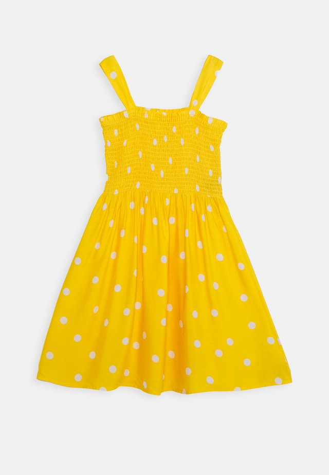 DRESS GIRLS TEENS - Korte jurk - yellow