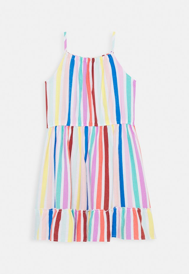 DRESS GIRLS TEENS - Korte jurk - yellow/red