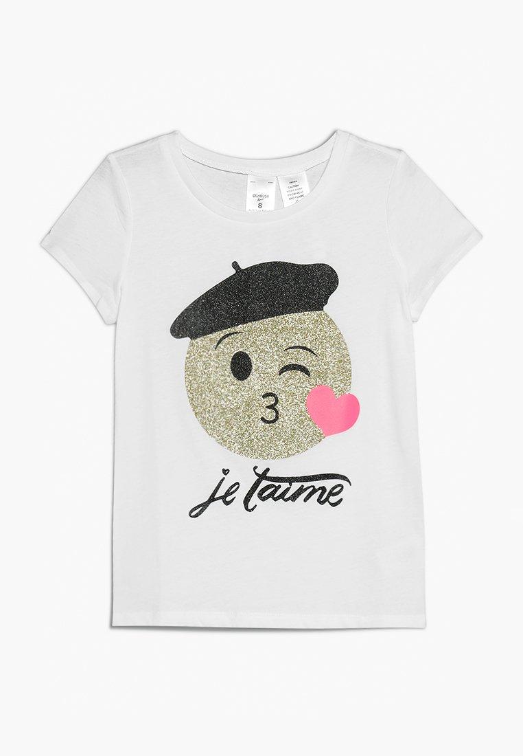 OshKosh - OKO TEE - T-shirt imprimé - white