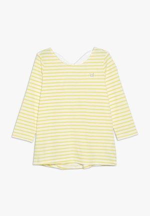 KIDS BUTTERFLY BACK TEE - Camiseta de manga larga - yellow
