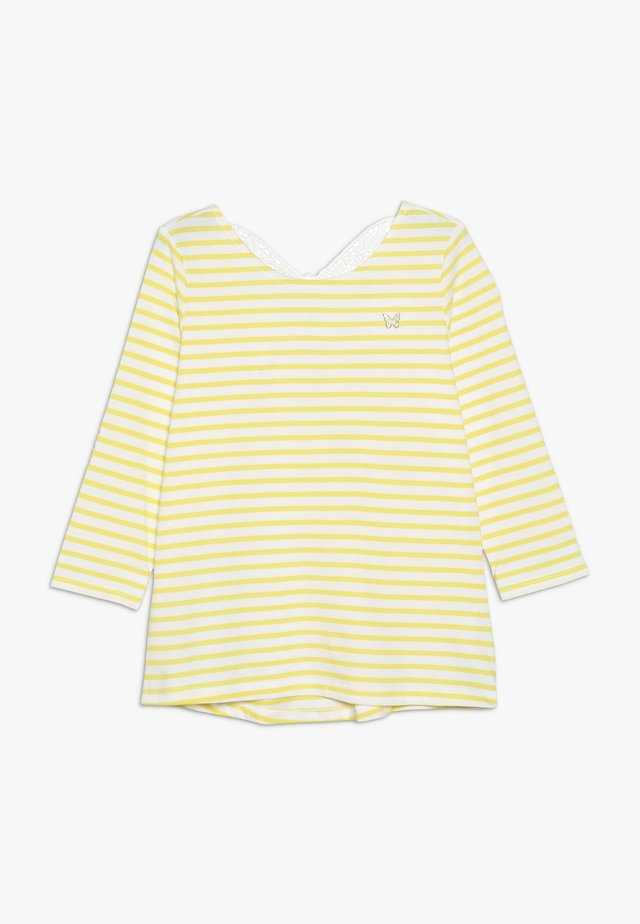 KIDS BUTTERFLY BACK TEE - Long sleeved top - yellow