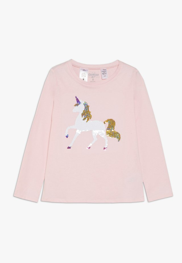KIDS FLIP SEQUIN - Long sleeved top - pink