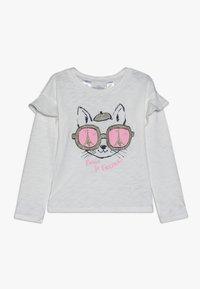 OshKosh - KIDS DROP SHOULDER RUFFLE SLEEVE - Long sleeved top - white - 0