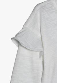 OshKosh - KIDS DROP SHOULDER RUFFLE SLEEVE - Long sleeved top - white - 2