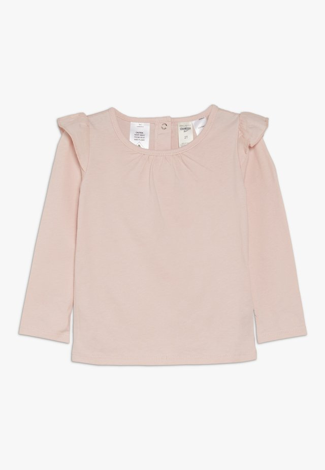 TODDLER RUFFLE  - Long sleeved top - pink