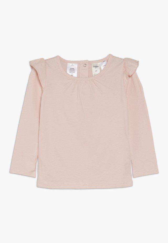 TODDLER RUFFLE  - T-shirt à manches longues - pink
