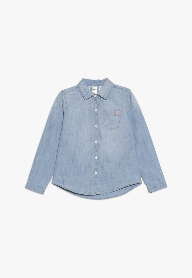 KIDS - Button-down blouse - denim