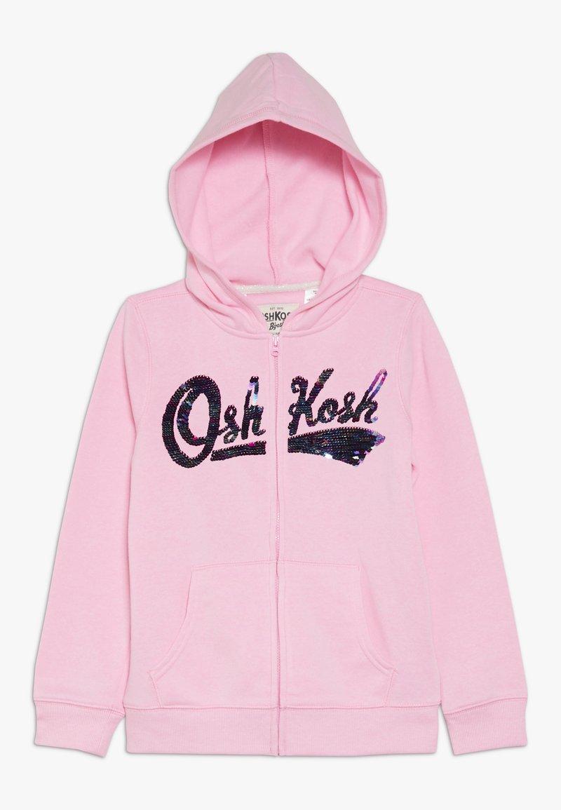 OshKosh - LOGO HOODIE - Hettejakke - pink