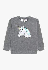 OshKosh - KIDS DROP SHOULDER - Sweatshirt - grey heather - 0