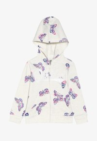 OshKosh - TODDLER PRINTED LOGO HOODIE - Mikina na zip - grey - 3