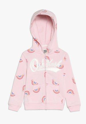 TODDLER PRINTED LOGO HOODIE - veste en sweat zippée - light pink