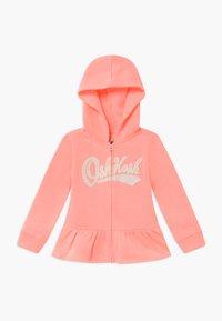 OshKosh - LAYERING - Zip-up hoodie - apricot - 0