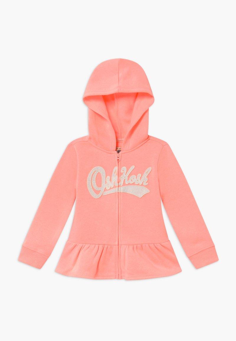 OshKosh - LAYERING - Zip-up hoodie - apricot
