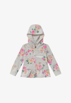 Zip-up hoodie - off-white