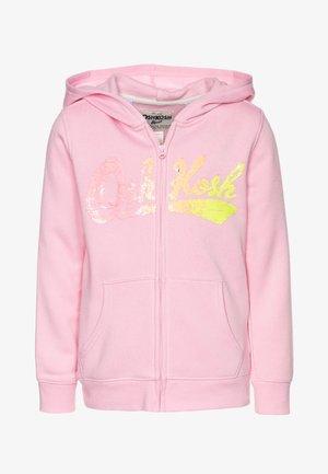 LAYERING - Mikina na zip - pink