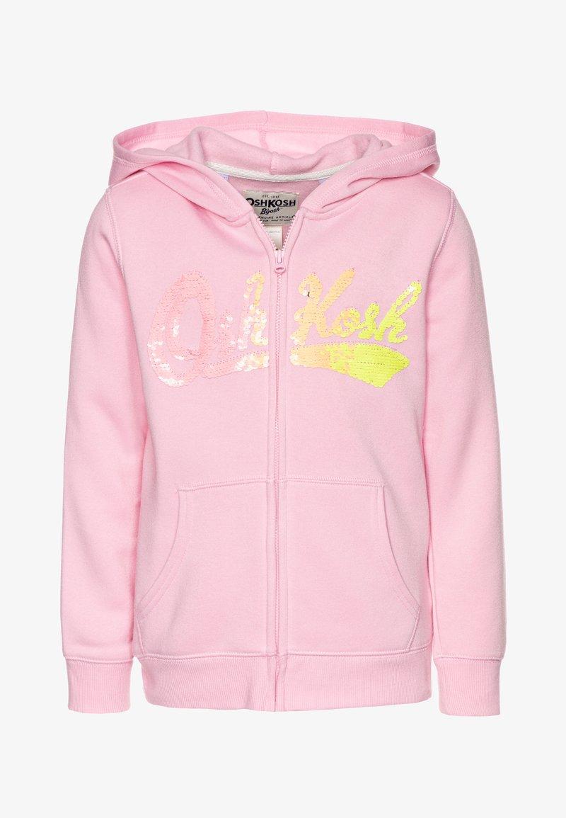 OshKosh - LAYERING - Zip-up hoodie - pink