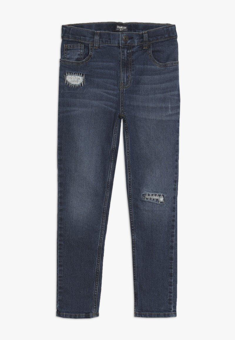 OshKosh - KIDS SKINNY REPAIR - Jeans Straight Leg - denim