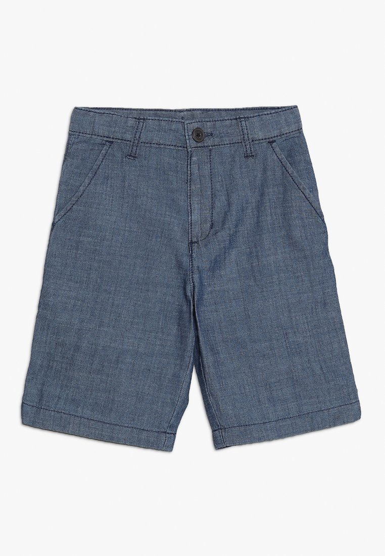 OshKosh - FLAT FRONT  - Denim shorts - blue denim
