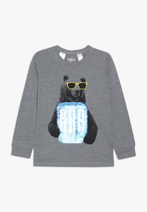 KIDS TIER BASIC TEE - Pitkähihainen paita - grey heather