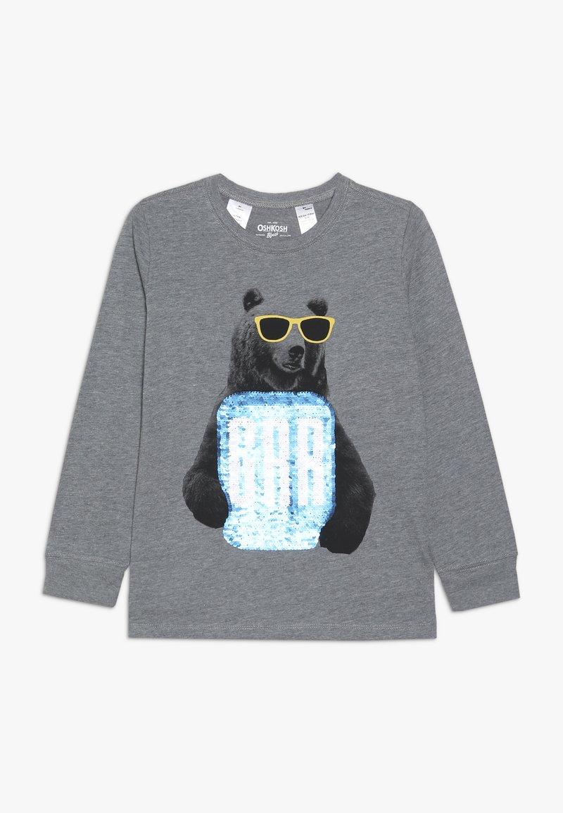OshKosh - KIDS TIER BASIC TEE - Long sleeved top - grey heather