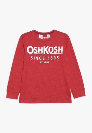 KIDS LOGO TEE - Pitkähihainen paita - red