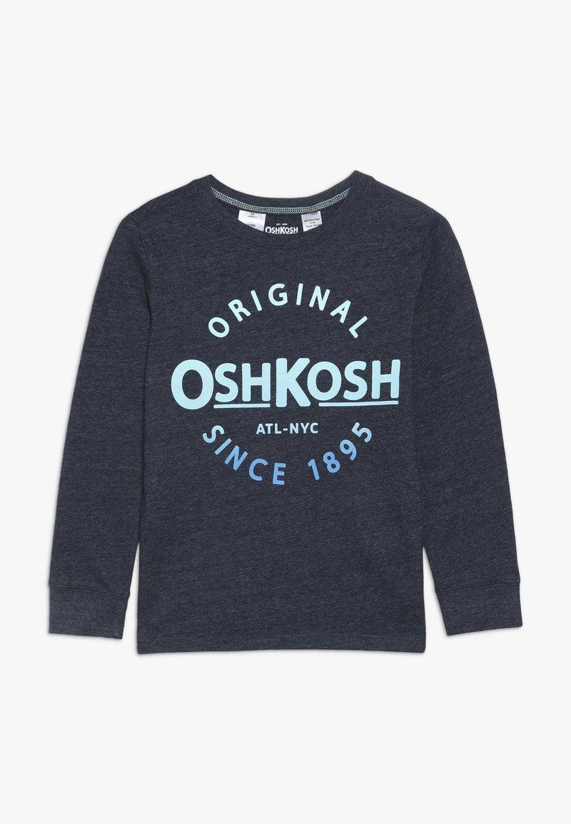 OshKosh - KIDS LOGO - T-shirt à manches longues - blue