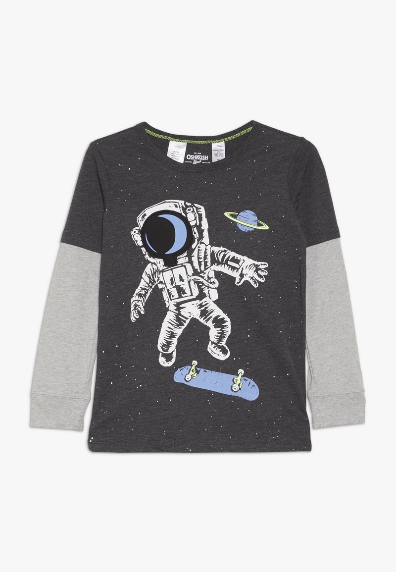 OshKosh - KIDS BASIC TEE - Langærmede T-shirts - grey