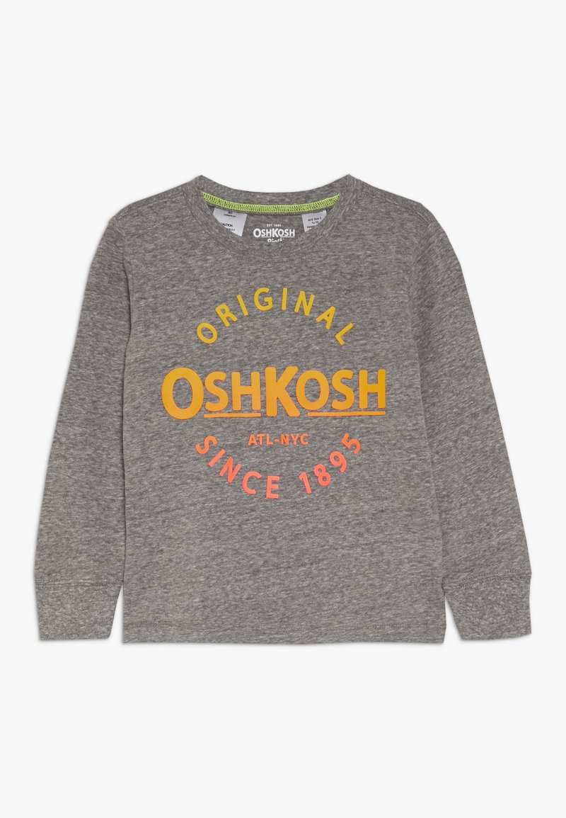 OshKosh - TODDLER LOGO TEE - T-shirt à manches longues - heather