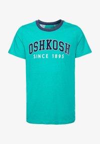 OshKosh - T-shirt imprimé - turquoise - 0