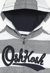 OshKosh - KIDS ZIP HOODIE - Huvtröja med dragkedja - light grey - 4