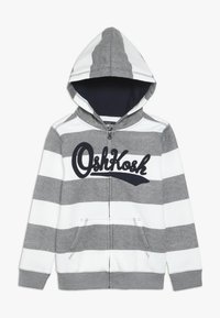 OshKosh - KIDS ZIP HOODIE - Huvtröja med dragkedja - light grey - 0