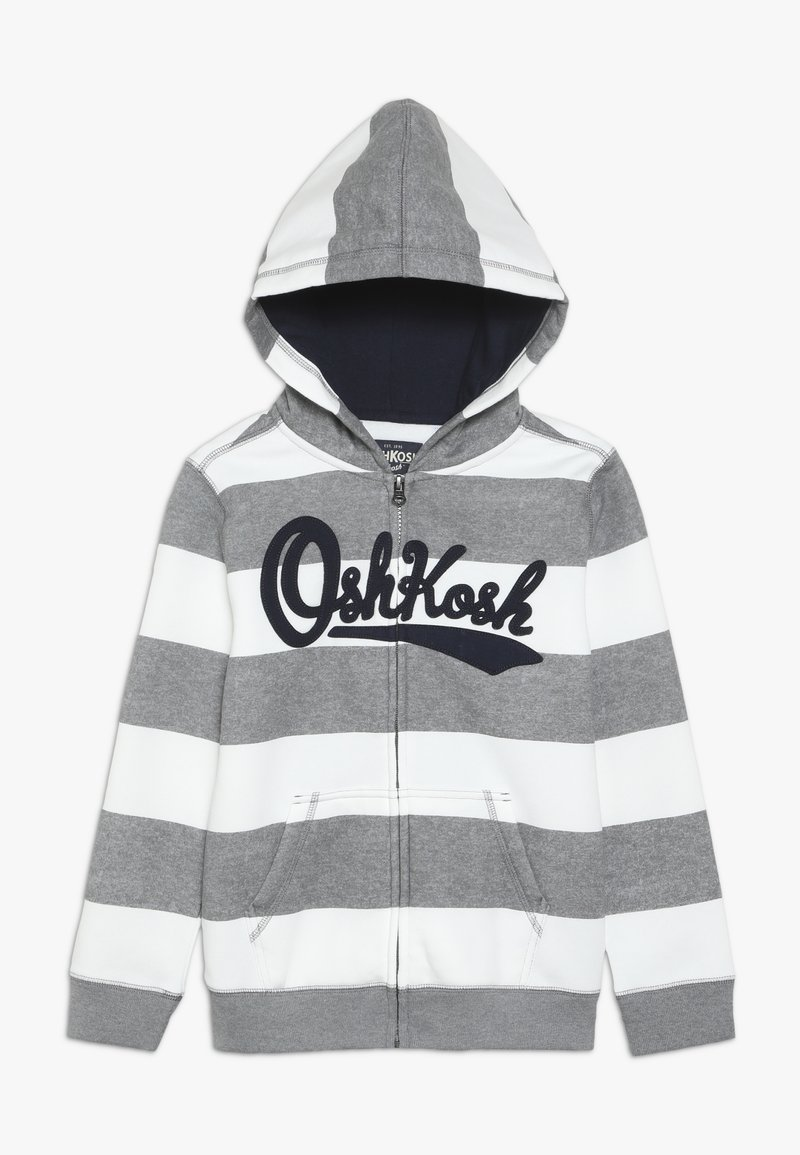 OshKosh - KIDS ZIP HOODIE - Huvtröja med dragkedja - light grey
