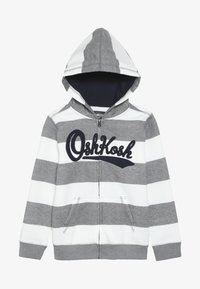 OshKosh - KIDS ZIP HOODIE - Huvtröja med dragkedja - light grey - 3