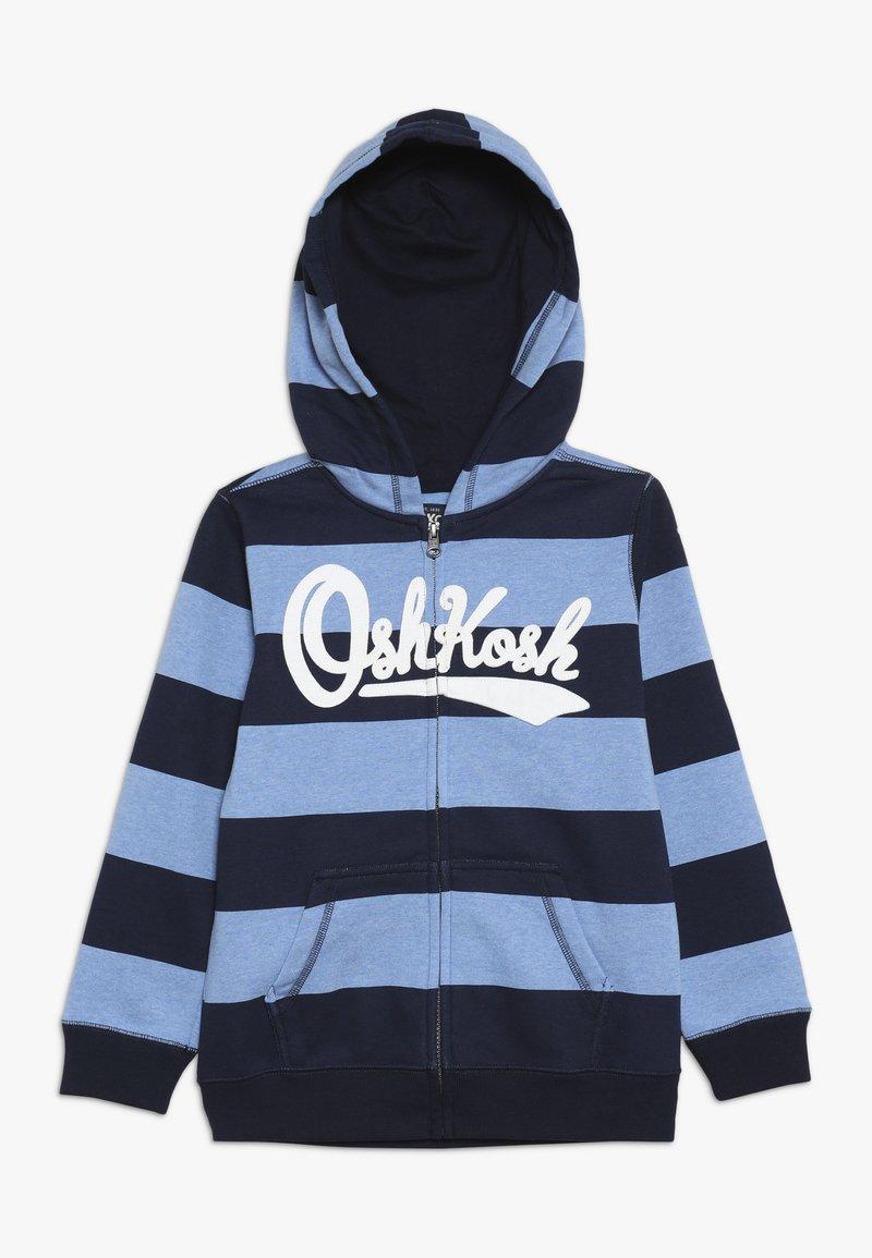 OshKosh - KIDS ZIP HOODIE - Zip-up hoodie - blue
