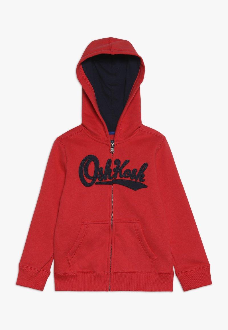 OshKosh - ZIP HOODIE - Zip-up hoodie - red