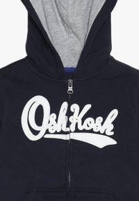 OshKosh - ZIP HOODIE - Hoodie met rits - blue - 3