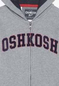 OshKosh - KIDS ZIP HOODIE - Hoodie met rits - grey - 3
