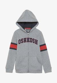 OshKosh - KIDS ZIP HOODIE - Hoodie met rits - grey - 2