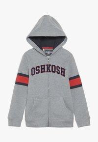 OshKosh - KIDS ZIP HOODIE - Hoodie met rits - grey - 0