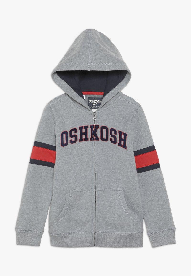 OshKosh - KIDS ZIP HOODIE - Hoodie met rits - grey