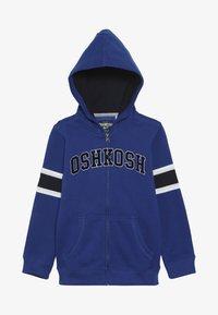 OshKosh - KIDS ZIP HOODIE - Felpa aperta - blue - 3