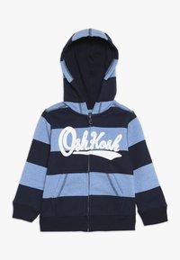 OshKosh - TODDLER ZIP HOODIE - Huvtröja med dragkedja - blue - 0