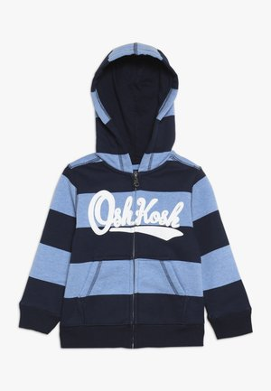 TODDLER ZIP HOODIE - Huvtröja med dragkedja - blue