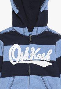 OshKosh - TODDLER ZIP HOODIE - Huvtröja med dragkedja - blue - 3