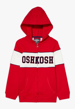 LAYERING - Zip-up hoodie - red
