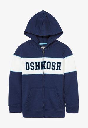 LAYERING - veste en sweat zippée - blue