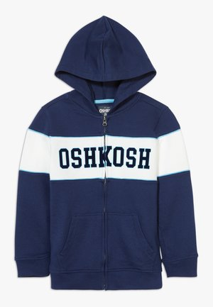 LAYERING - Zip-up hoodie - blue