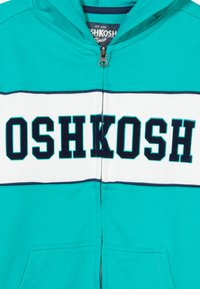 OshKosh - LAYERING - Zip-up hoodie - turquoise