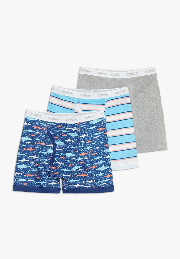 OshKosh - BOYS BOXER BRIEF 3 PACK - Onderbroeken - grey