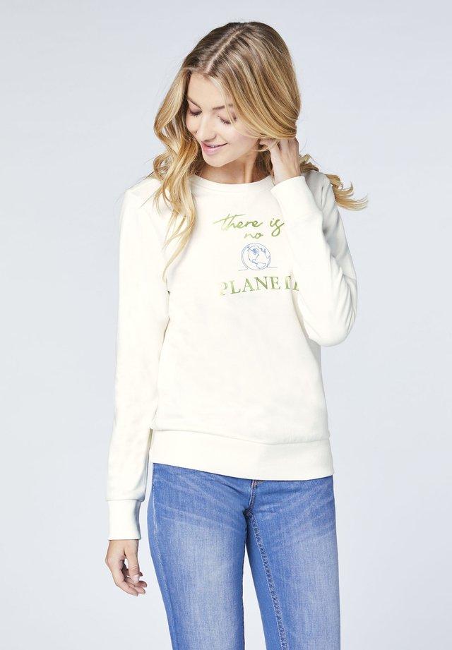 Sweatshirt - whisp white